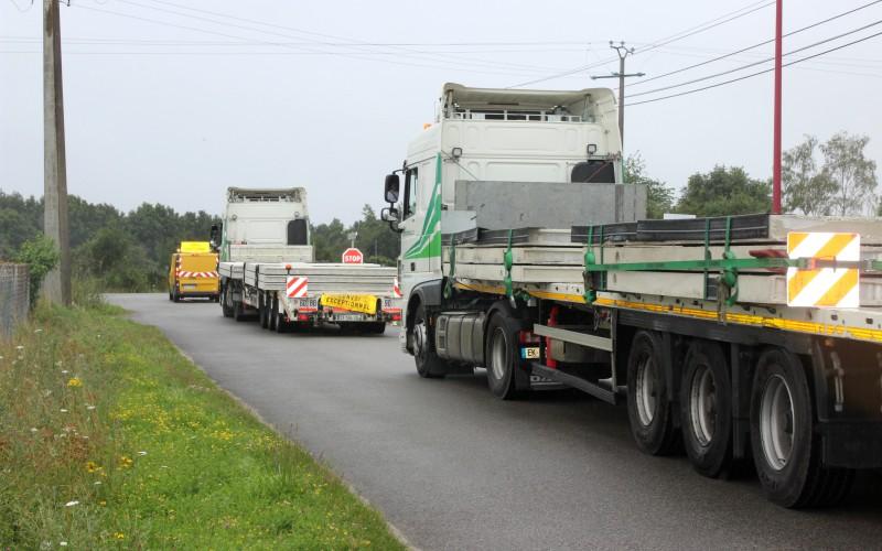 camions convoi Evodis
