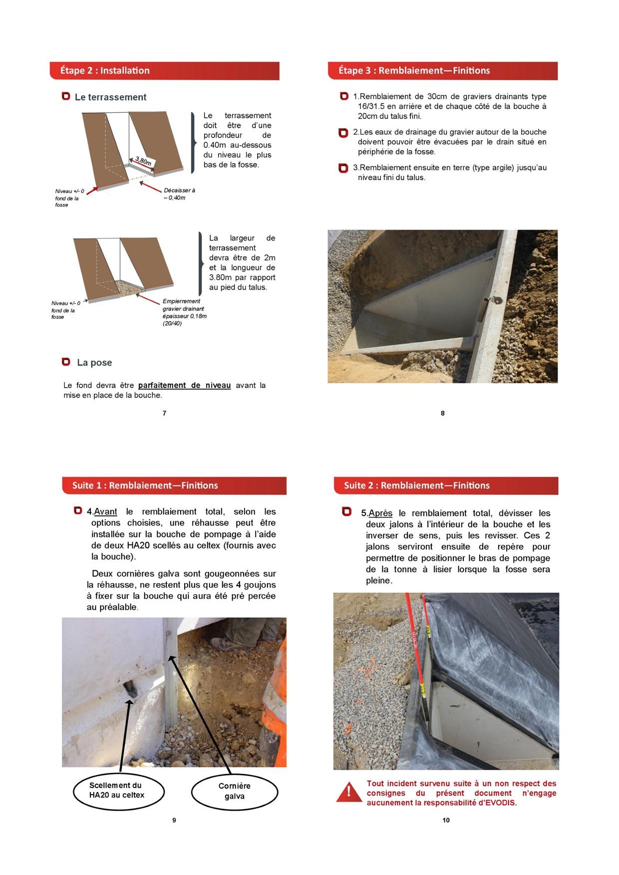 FICHE TECHNIQUE BOUCHE DE POMPAGE - page 2