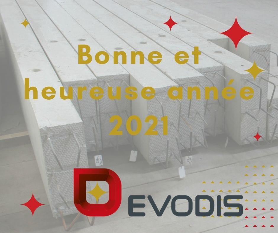 voeux 2021 EVODIS à Craon
